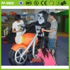 New interesting good quality inflatable ghost driving motorcycle model
