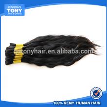 natural braid/raw bulk hair brazilian virgin hair bulk