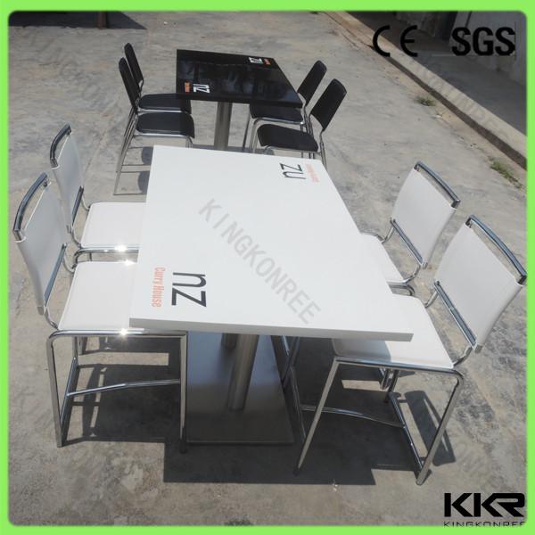 gro handel st hle und tische feste oberfl che tisch mit 4 sitzige. Black Bedroom Furniture Sets. Home Design Ideas