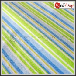 2014 China Hot Selling sofa upholstery cotton blue and white striped fabric