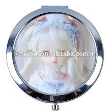 Mirror Mini Hand Protable Cosmetic Sweet Glass Pocket Make Up Birthday Girl Beauty Gift