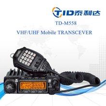 Td-m558 vhf uhf 60w transceiver nice hosing 200ch vhf/uhf car radio