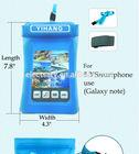 phone waterproof case phone bag waterproof 5.3'' for note and Samsung
