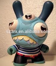 custom made mini vinyl cartoon figures, oem plastic figures eyes pop out,custom anime figure in Shenzhen