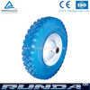 pu foam material solid wheel 400-8