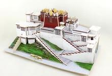 Robotime 3D Wooden puzzle toy model -Potala Palace building model for kids