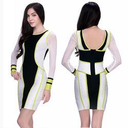 Office design modern dress for fat women dress plus size evening dress