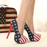 USA women special designed dress high heeled shoes PH2239