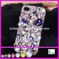 Wholesale Bling crystal phone case with shiny rhinstone beads