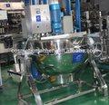 Comercial / industrial aquecimento de vapor inferior agitação vácuo panela / chaleira vácuo com misturador