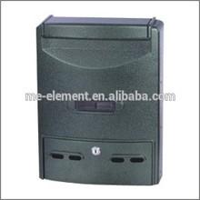 Aluminium apartment letterbox, Powder Coating letter box