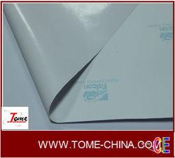 Printable White vinyl adhesive