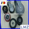 hoja de la ventana de la rueda de aleación de aluminio con puertas correderas de rodillos