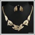 2014 del medio ambiente de la aleación barata collares pendientes best venta de oro de la joyería