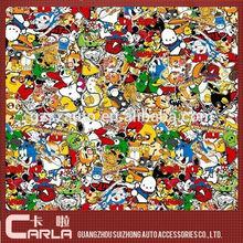 1.52X10M Air Bubble Free DIY Bomb Sticker Vinyl