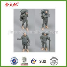 marx,mao,lenin and thoreau action figures