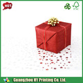 Golden+red scatola di cartone profumo per il regalo