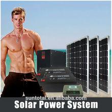 domestic use small solar power units