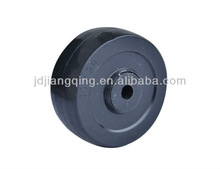 100mm solid rubber caster wheel
