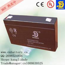 hot sells storage rechargeable energency light plomb-acide batterie lead acid accumulator 6v7ah
