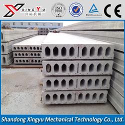 12.6m large span block cement form core board reinforcement