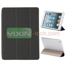 New arrival for iPad Mini 2 fold pu leather case cover