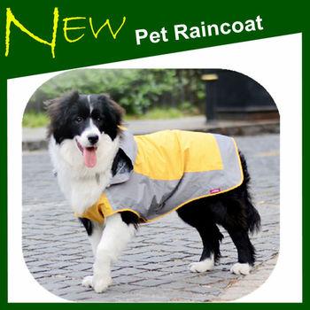 Super waterproof pet raincoats for dogs Dog raincoats