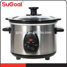 Sugoal 1.5L Ceramil Pot Electric Slow Cooker