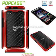 pc + tpu bumper case for blackberry z30
