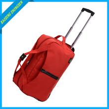 Durable foldable trolley bag , duffle bag