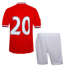 thailand manufacturers embroidered numbers for jerseys put your number soccer jersey