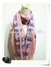 elephant scarf/knitting pattern animal scarf