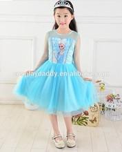 Authentic frozen dress elsa dress costume frozen queen elsa dress for kids frozen movie frozen items