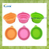 G-2014 Eco-friendly Silicone Pet Bowl/Collapsible Pet Bowl/Collapsible Travel Pet Bowl