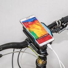 Handy fahrradhalter mit externen portable power bank für iphone/samsung/HTC