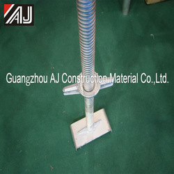 Guangzhou factory adjustable scaffolding leg for shoring