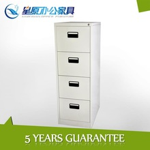 large a4 white luxury metal classical filing cabinet with lock