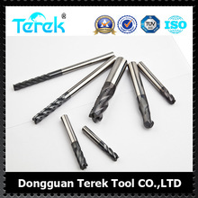 Terek 3/4 Flutes Roughing End Mill Cutter Carbide End Milling Cutting tools HRC45