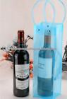 Custom clear high quality reusable pvc wine cooler bag