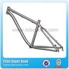 "TSB-ODM1203 26""customized titanium bicycle frame"