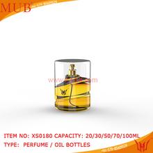 Frasco de Perfume garrafas de vidro por atacado nomes de senhoras Perfume