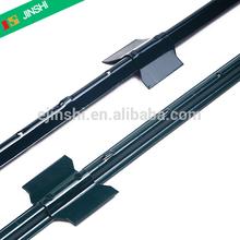 Factory Direct Heavy Duty 14gauge Powder Coated Dark Green Color U shape Steel Fence Posts