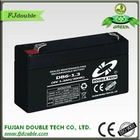 good price storage rechargeable lantern 6v 1.3ah battery