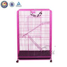 QQ04 Manufacturer Supplying Pink Folding Dog Cage