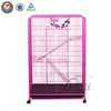 QQ04 Manufacturer Supplying Pink Folding Dog Cage