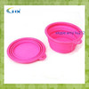 G-2014 New Food fold pet rubber dog bowl silicone rubber pet bowl