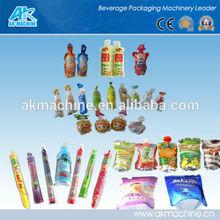 8 nozzle bag juice filling machine/8 nozzle bottle shape juice pouch packing machine