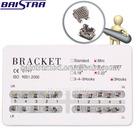 Factory low price high quality Orthodontic Bondable dental metal bracket