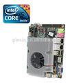 Tamanho pequeno placa-mãe Intel CPU i3 / i5 / i7 duplo canal HDMI / VGA / 3 G wi fi