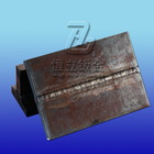 flame cutting part for agricultural weight plate